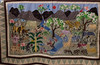 """Gift of a quilt made to the """"Adopt a Village"""" program which Steve Rutledge proudly displayed at our meeting."""