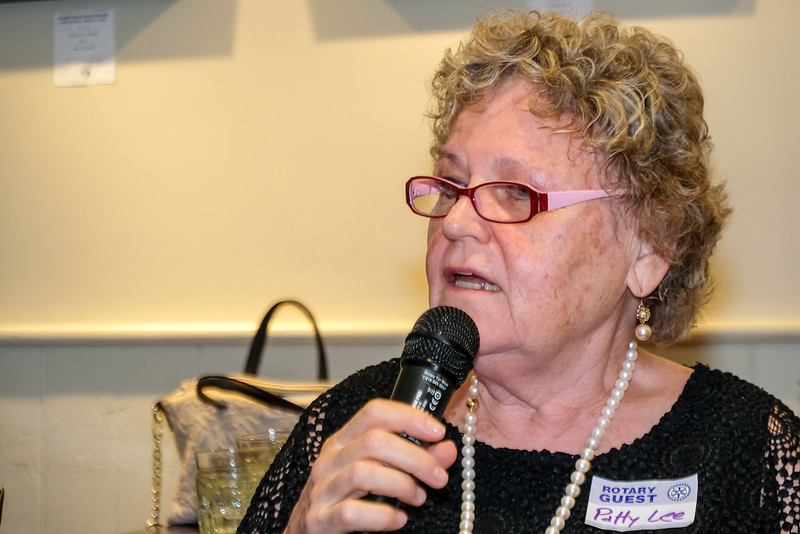 Guest Patty Lee, who does a lot of charitable work in the community