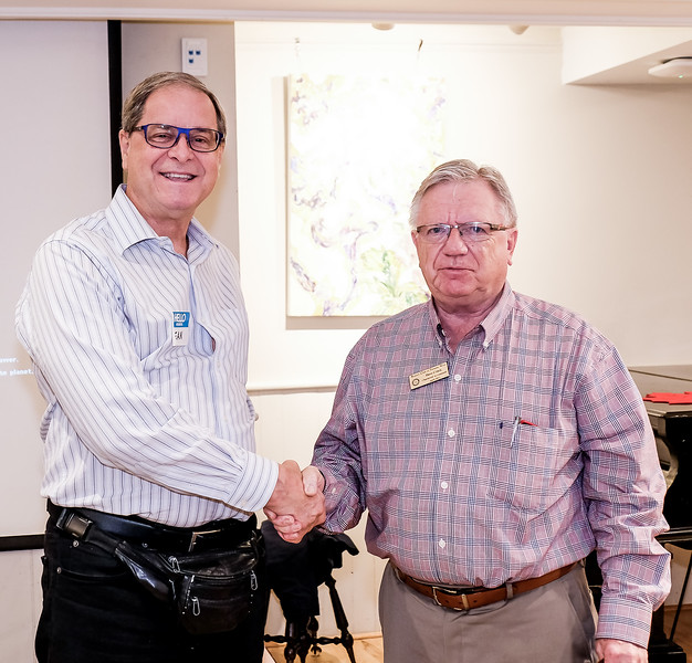 David thanked Don for his excellent presentation, which was echoed all members.