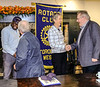The inductees were then welcomed with the traditional handshake from each club member.