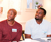 Guest presenter Akeem Garner - Co-Founder and CEO of Atlas365.ca (R) with associate Randy Osei (L)