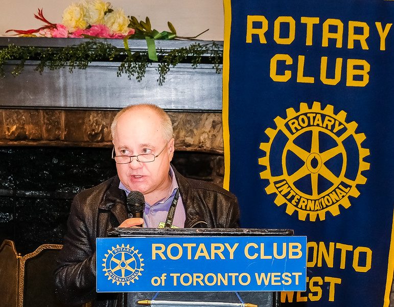Some announcements by RTW Club President Stephen Thiele