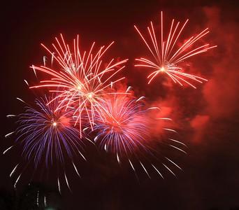 July 4th Fireworks - 7/4/2016