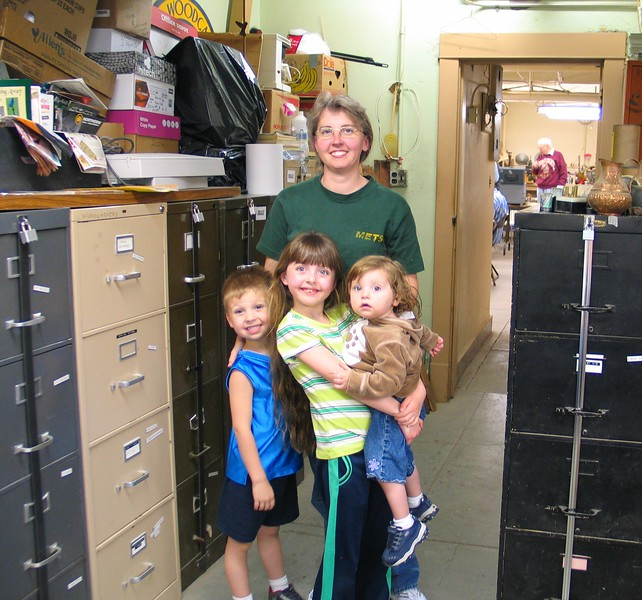 Kelli Dague & children 2006