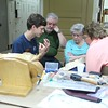 Another group relief carving session