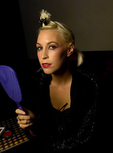 "Club Pop Noir at the Static Lounge (634 Broadway; San Diego, CA 92101) Designers: M.Chorak & Isha B ""Chocolate Cherries"". Vinyl spun by DJ Edgartronic"