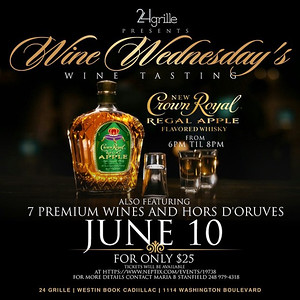 24 Grille 6-10-15 Wednesday