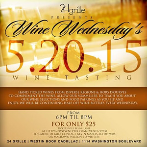 24 Grille 5-20-15 Wednesday