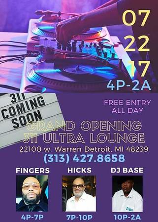 311 Ultra Lounge 7-22-17 Saturday