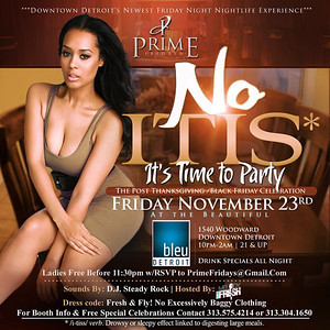 Bleu 11-23-12 Friday