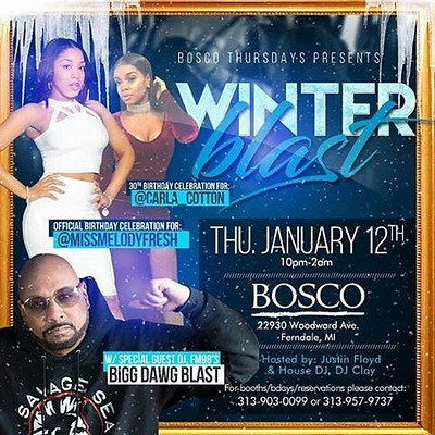Bosco 1-12-17 Thursday