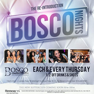 Bosco  9-8-16 Thursday