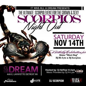 Club Dream 11-14-15 Saturday