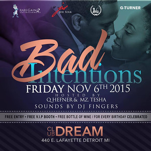 Club Dream 11-6-15 Friday