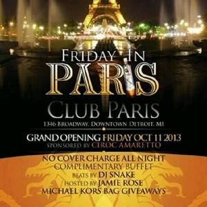Paris 10-11-13 Friday