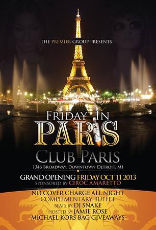 Paris 1-31-14 Friday