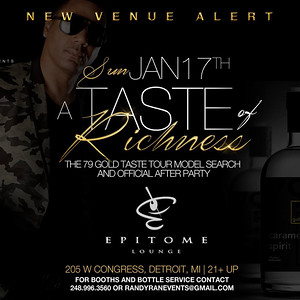 Epitome Lounge 1-17-16 Sunday