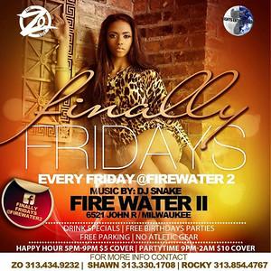 Firewater II 10-2-15 Friday
