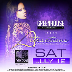 Green House 7-12-14 Saturday