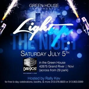 Green House 7-5-14 Saturday