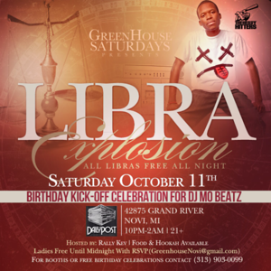 Greenhouse 10-11-14 Saturday