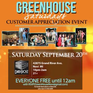Greenhouse 9-20-14 Saturday