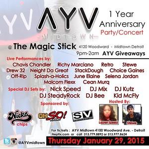 Magic Stick 1-29-15 Thursday
