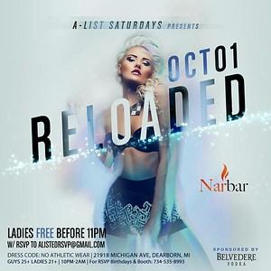 Nar Bar 10-1-16 Saturday