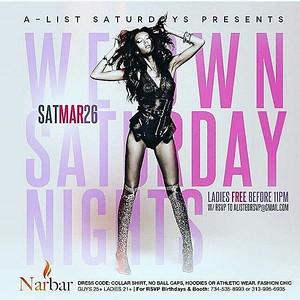 Nar Bar 3-26-16 Saturday