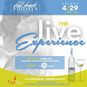 Nar Bar 4-29-16 Friday