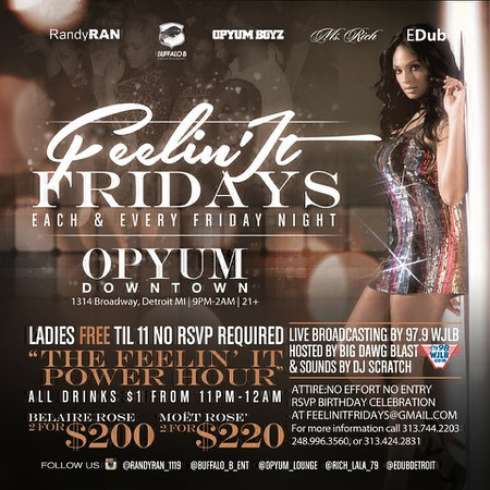 Opyum DT 3-14-14 Friday