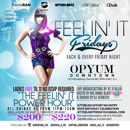Opyum DT 5-9-14 Friday