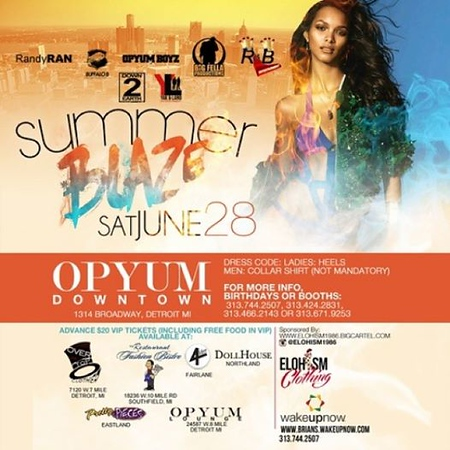 Opyum DT 6-28-14 Saturday