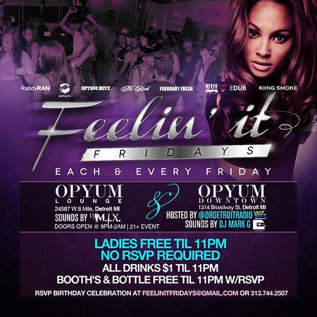 Opyum DT 8-1-14 Friday