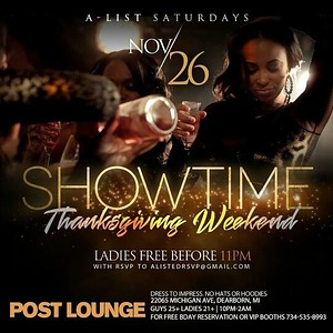 Post Bar 11-26-16 Saturday