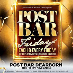 Post Bar 4-22-16 Friday