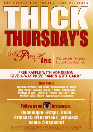 Prive 6-6-13 Thursday