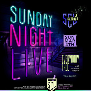 SCL 3-4-18 Sunday