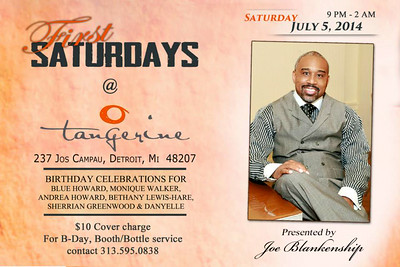 Tangerine 7-5-14 Saturday