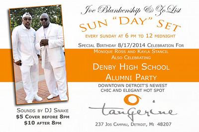 Tangerine 8-17-14 Sunday