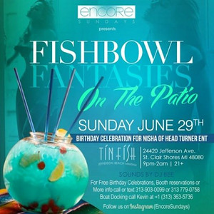 Tin Fish 6-29-14 Sunday