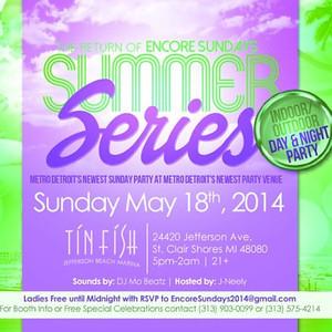 Tin Fish St Clair 5-18-14 Sunday