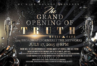 Truth Music Cafe 7-17-15 Saturday