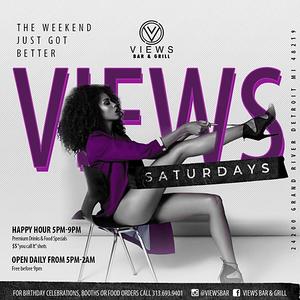 Views Bar & Grill 1-27-18 Saturday