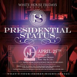 White House 4-25-14 Friday