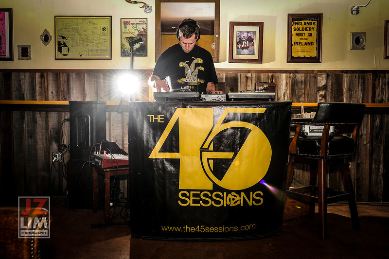 45 Sessions @Legionnaire Saloon