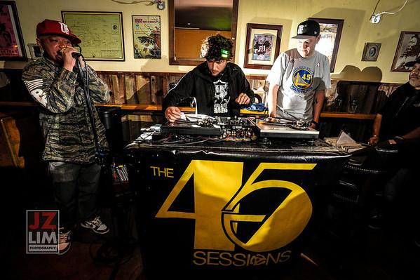 45 Sessions @Legionnaire Saloon