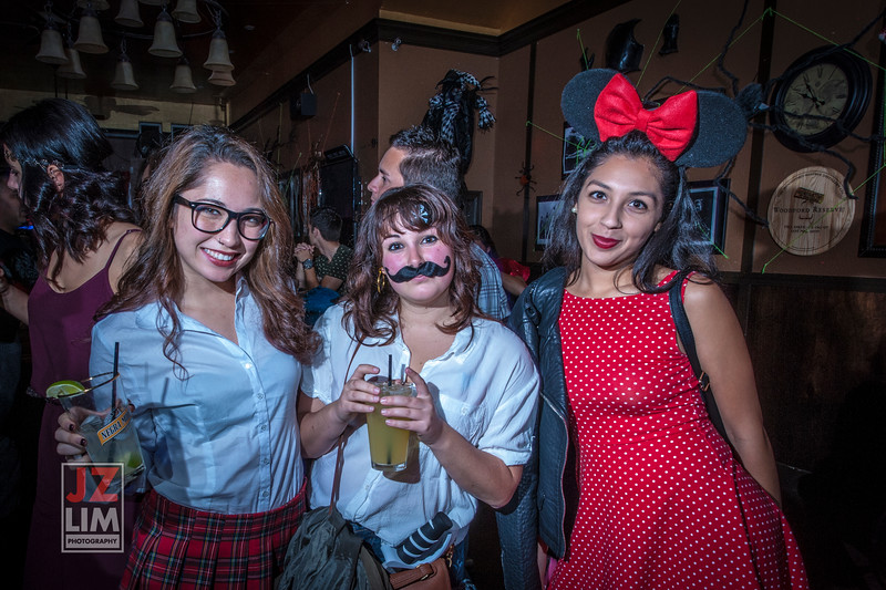 The Churchward Pub Halloween 2014