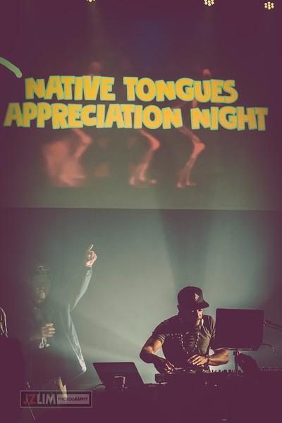 Platurn Productions & 15th Utah Present... Native Tongues Appreciation Night 2019