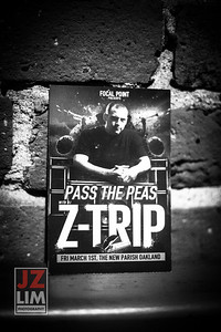 Pass the Feas featuring Z-TRIP… Supported by DJ ENKI, DJ SAURUS, DJ PLATURN, AND DJ GOLDENCHYLD...